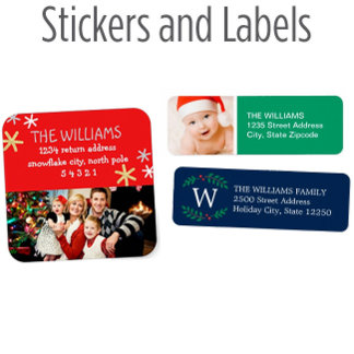 Holiday Stickers and Labels