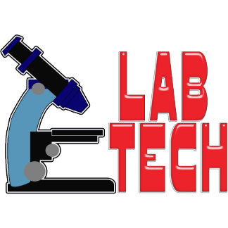 LAB TECH WITH MICROSCOPE - SCIENTIST LABORATORY