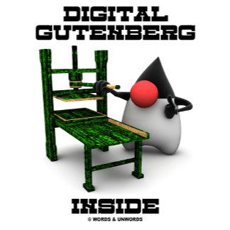 Digital Gutenberg Inside Printing Press Open Srce