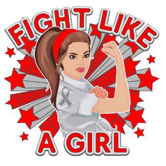 Brain Tumor Modern Rosie Fight