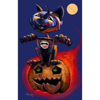 Halloween Cat Cards