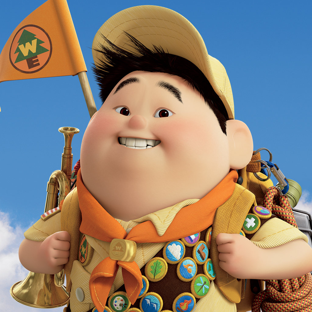 Image result for russell from up