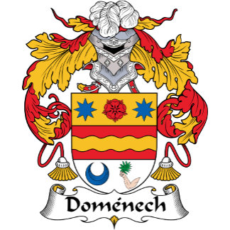 Domenech Family Crest