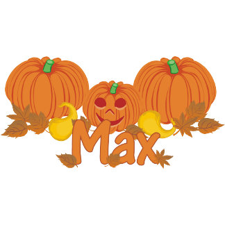 Pumpkin Max Personalized Halloween