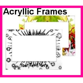 Frames - Acryllic Hard Plastic - Magnetic