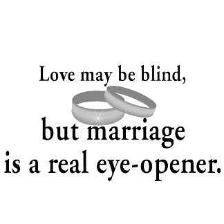 Love May Be Blind