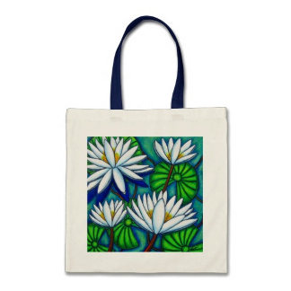 Funky Floral Bags