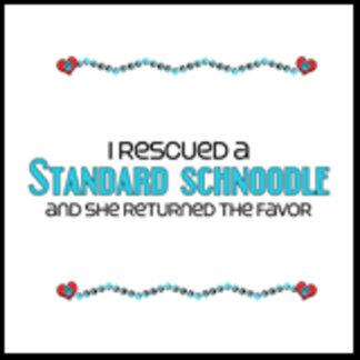 I Rescued a Standard Schnoodle (Female Dog)