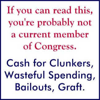 Anti-Bailout, Spendthrift Congress
