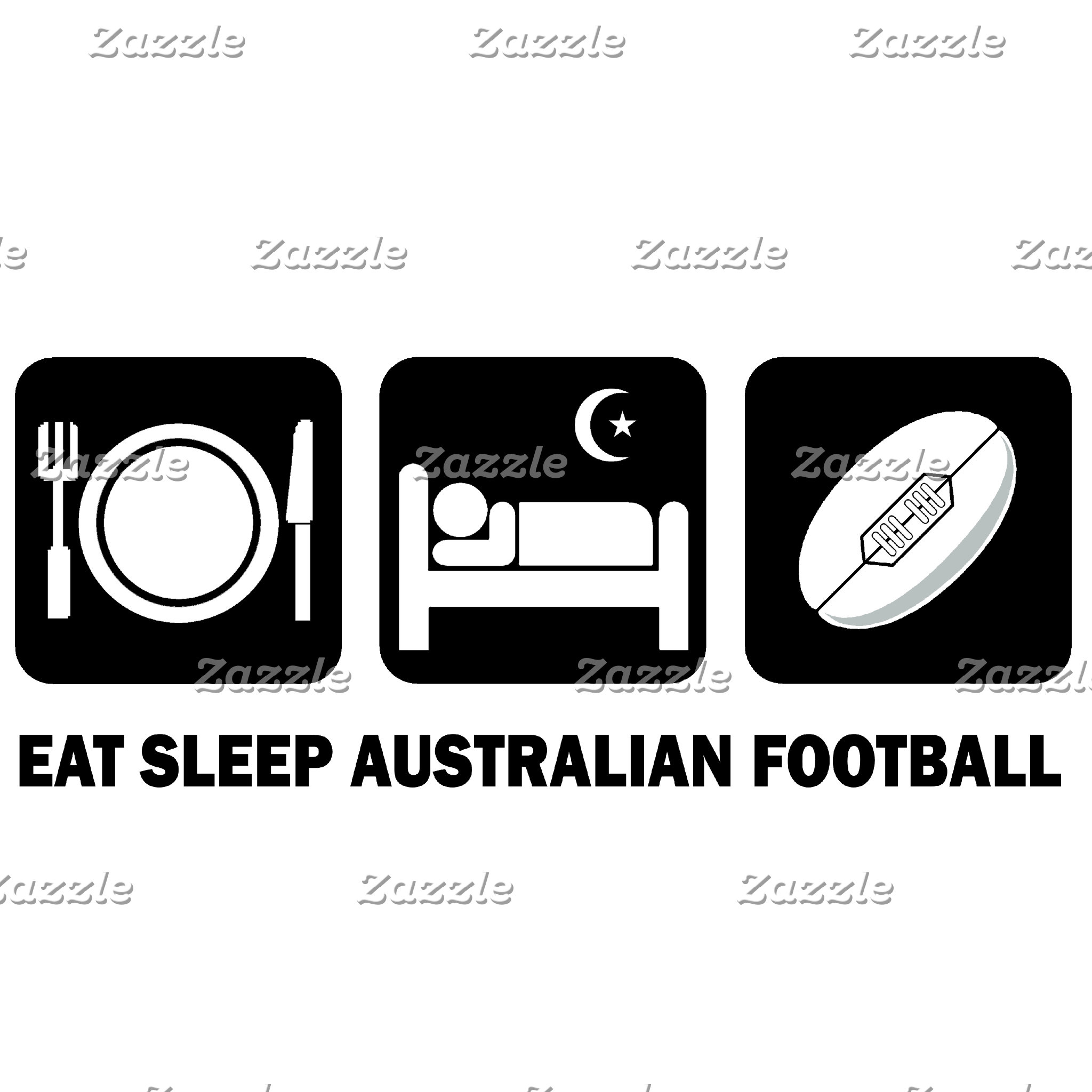 eat sleep Australian football