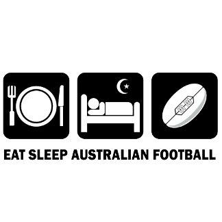 eat sleep Australian football