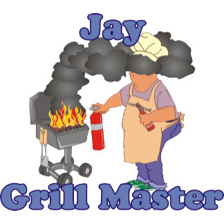 Personalized Jay Grill Master