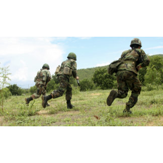 Royal Thai Marines rush forward to secure the s