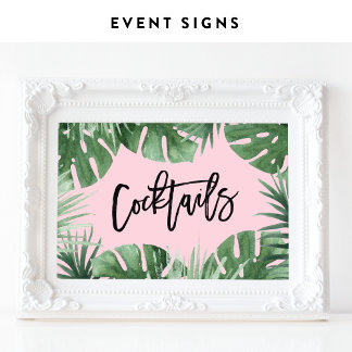 Shower & Event Signs