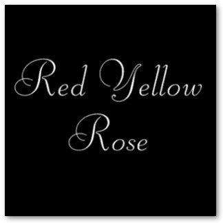 Red Yellow Rose