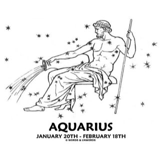 Aquarius (January 20th - February 18th)