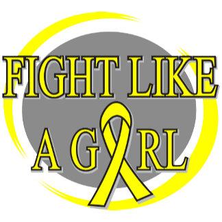 Bladder Cancer Fight Like A Girl Circular