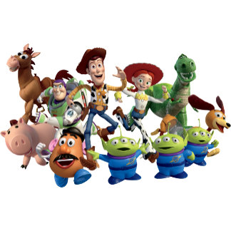 Toy Story 3 - Team Photo