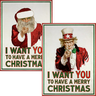 I want YOU to have a Merry Christmas