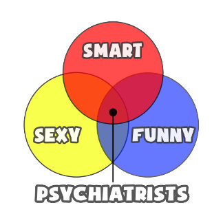 Venn Diagram .. Psychiatrists