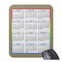 Mousepad Calendars