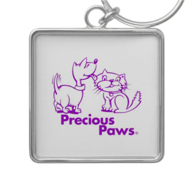 Precious Paws Logo on Unique Items & Gifts