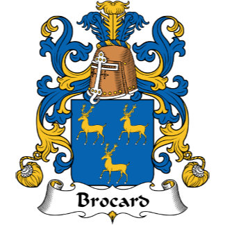 Brocard Family Crest