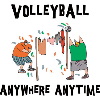 Volleyball AnyWhere Anytime T-Shirt Gift Cards
