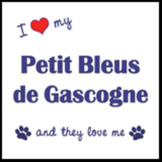 I Love My Petit Bleus de Gascogne (Multiple Dogs)