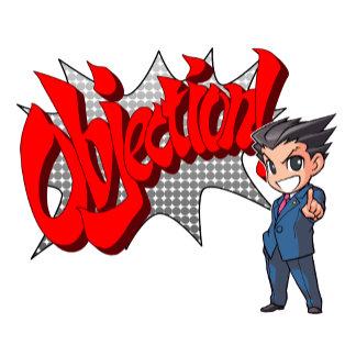 Objection! Phoenix Wright Chibi