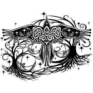Celtic Raven Moon