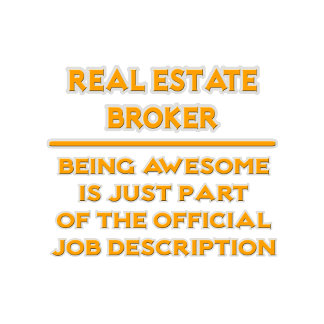 Real Estate Broker .. Job Description