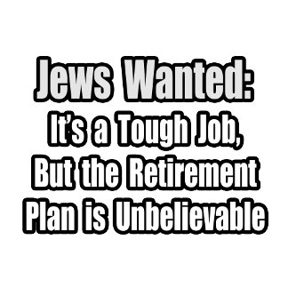 Jews Wanted...