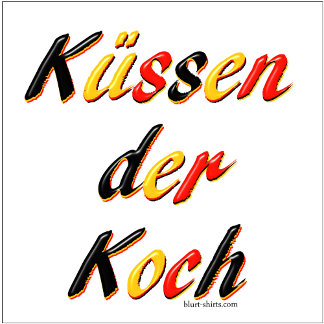 Kiss the Cook (German)