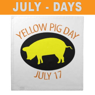 July Special Days Holiday T-shirts