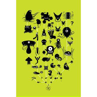 Spore Creature Silhouettes