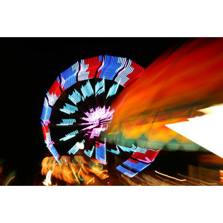 Circle Colourful zoom ride 1 Fair Event