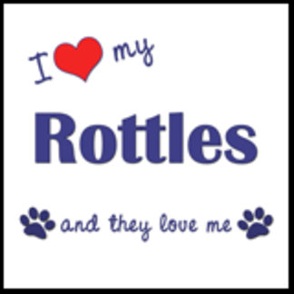 I Love My Rottles (Multiple Dogs)