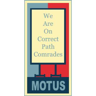 vereteno's: CORRECT PATH COMRADES