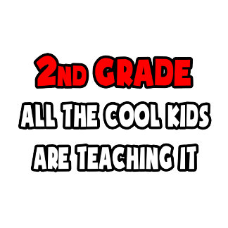 Funny 2nd Grade Teacher Shirts and Gifts
