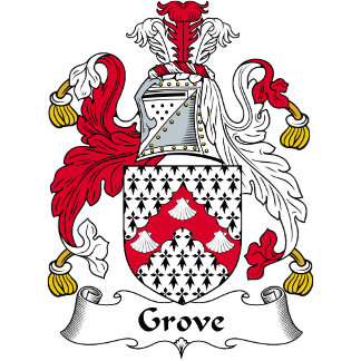 Grove Family Crest / Coat of Arms