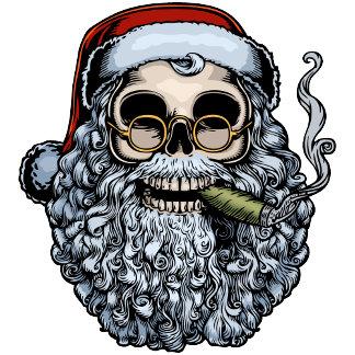 Holiday Skulls