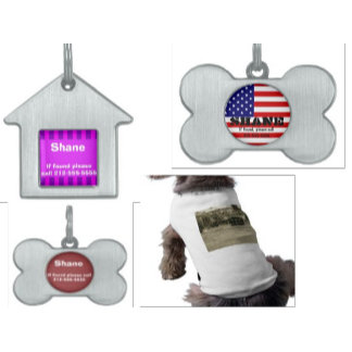Pet Tags & Clothes