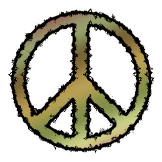 Peace Sign Camouflage -