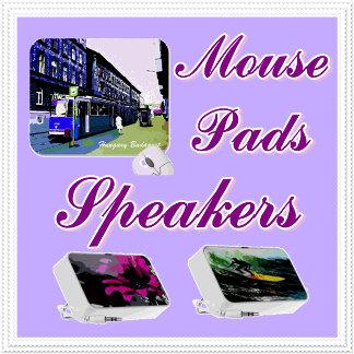 Mousepads,speakers