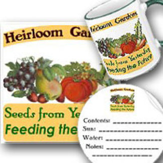 Heirloom Gardens Seed Saver Gardener Saying