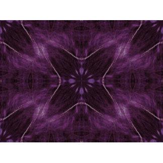 Purple Flower Fractal Design