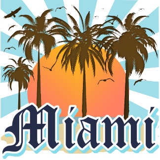 Miami FL T-shirts and Gifts