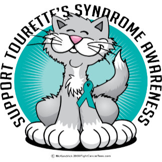 Paws for Tourette's Syndrome Cat