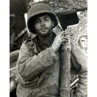 WWII American Soldier in Hurtgen Forest
